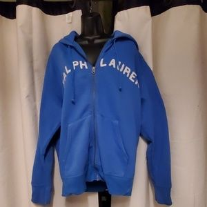 Ralph Lauren zip up hoodie sweatshirt